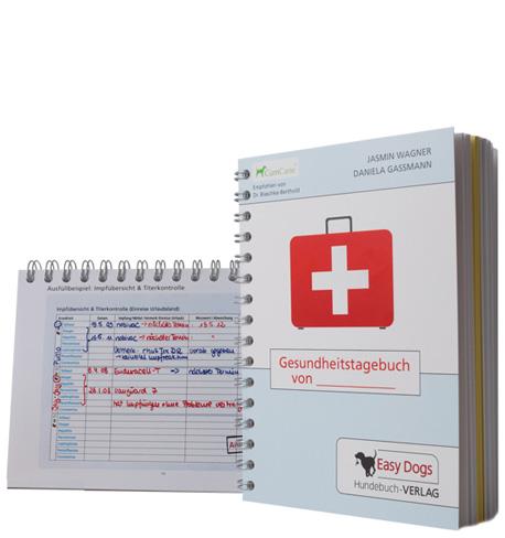 EASY DOGS - Gesundheits-Tagebuch