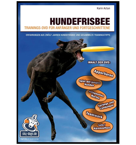 SKY-DOGS - DVD - Hundefrisbee Trainings-DVD für Anfänger und Fortgeschrittene