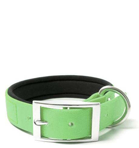 BIOTHANE® Halsband Deluxe Neopren (25mm) Mintgrün 55 - 63 cm