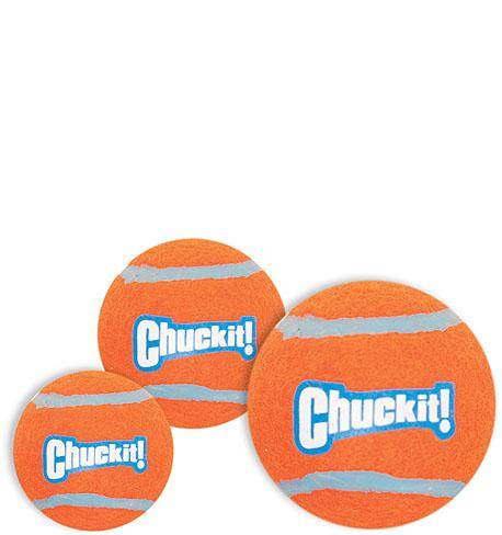 CHUCKIT! - Tennisball (Ersatzball für Ballschleuder) S - 2 Stück