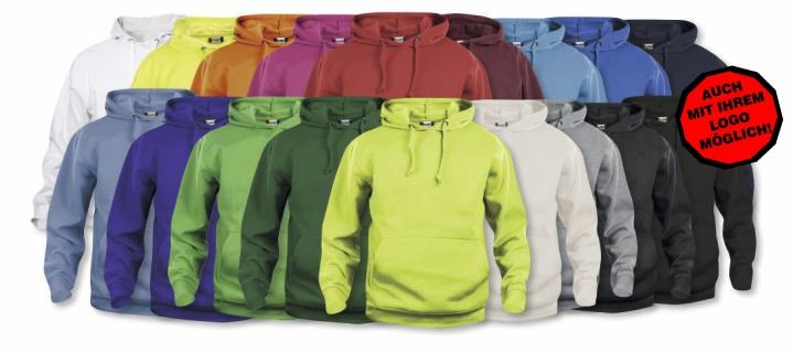 CLIQUE Basic Hoody UNISEX  XL 170 Leuchtorange