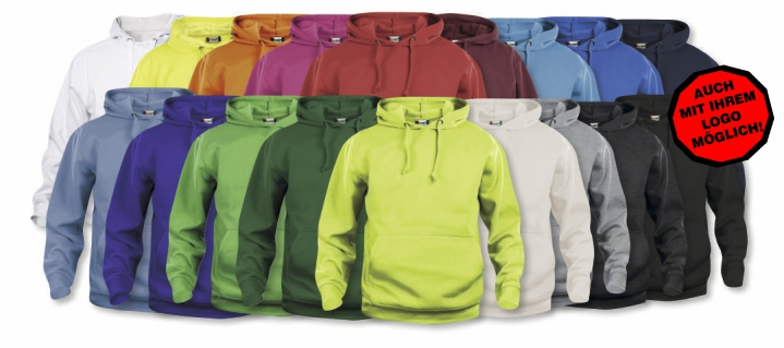 CLIQUE Basic Hoody UNISEX  L 95 Grau