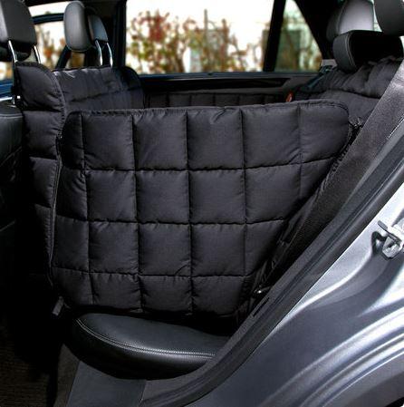 DOCTOR BARK - Autoschondecken für die Rückbank  3-Sitz S  schwarz