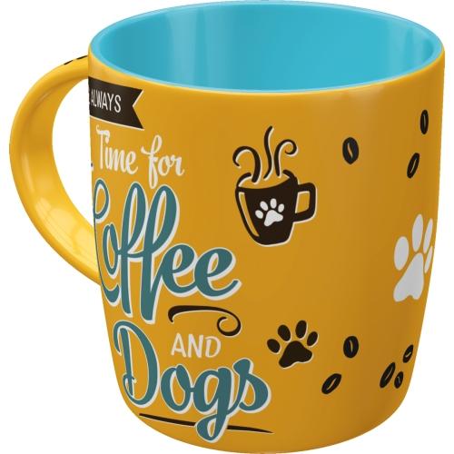 """PfotenSchild - Tasse """"Coffee and Dogs"""""""