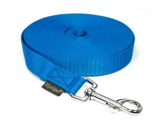 Mystique® Leinen Nylon 20mm mit Handschlaufe 5.00m  blau