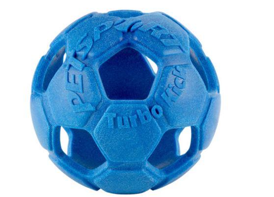 Turbo Kick Soccer Ball Blau 10.0 cm