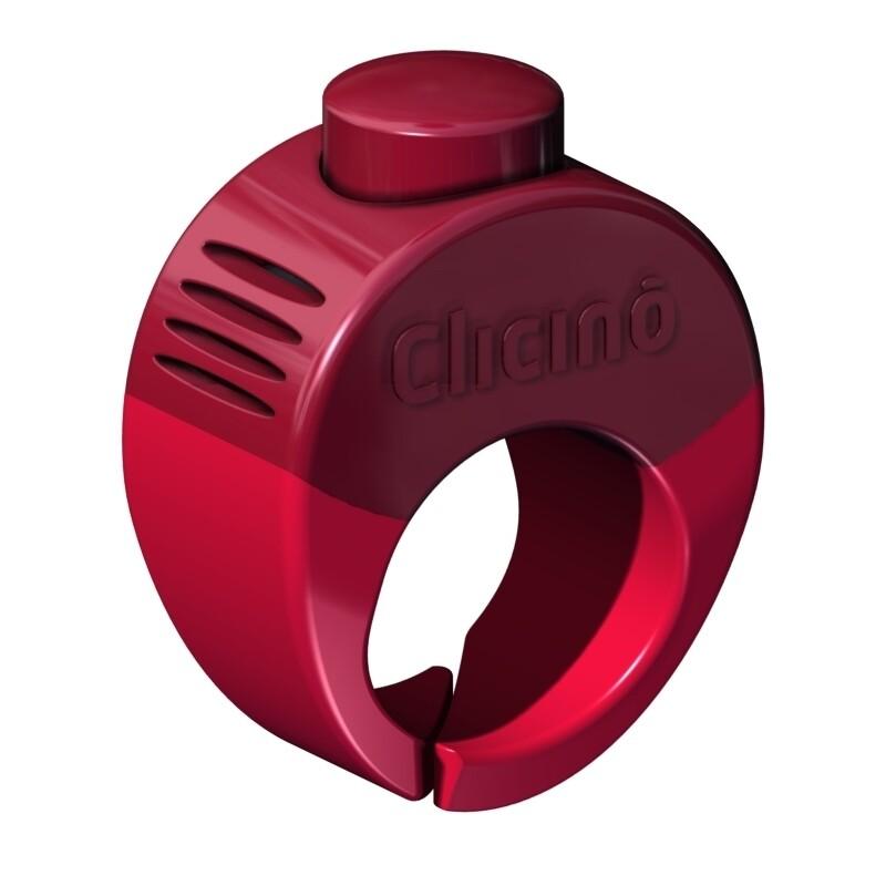 Clicino Clicker Ring L (21mm) rot