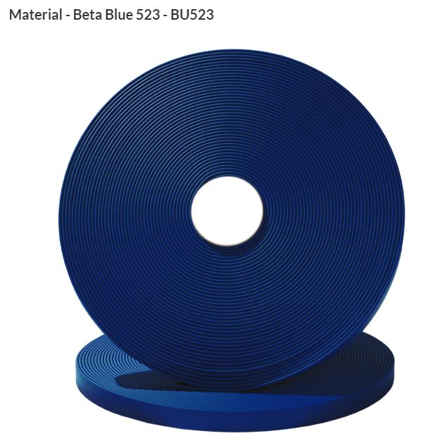 Original Biothane® Material / ganze Rollen  16mm dunkelblau (BU523)