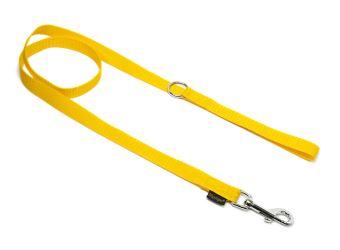 Mystique® Leinen Nylon 20mm mit Handschlaufe 2.00m  gelb