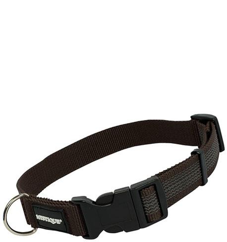 Mystique® Gummiertes Halsband 30mm 55-65cm braun