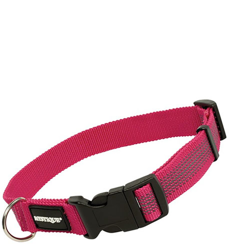Mystique® Gummiertes Halsband 25mm  55-65cm purpur