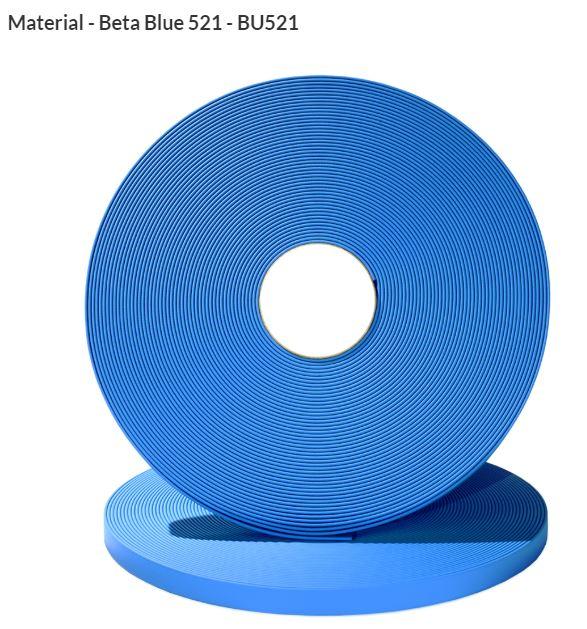 Original Biothane® Material / ganze Rollen  16mm himmelblau (BU521)