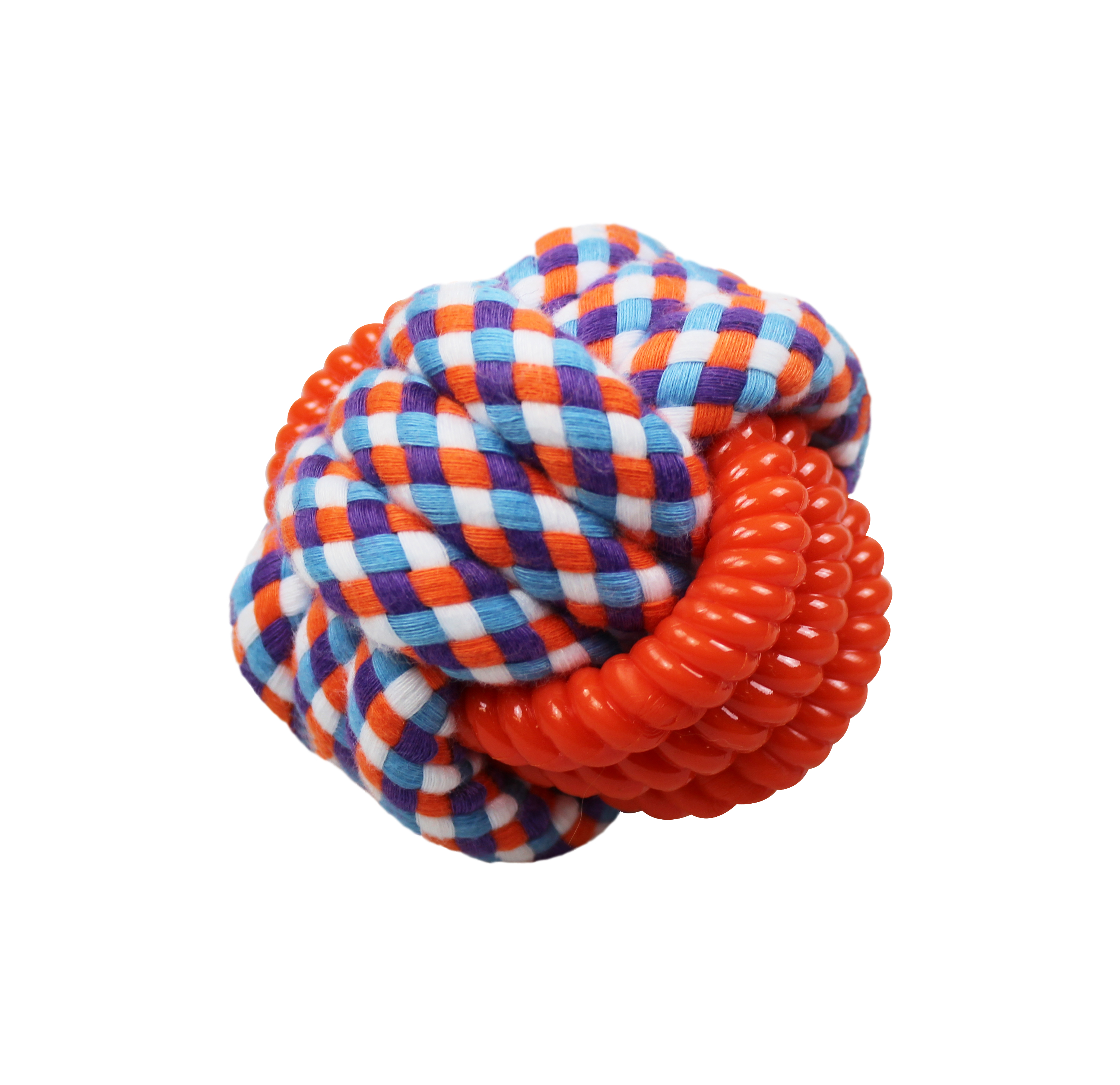 """Knotenball """"Doppel-Knoten"""" ca. 8cm Ø"""