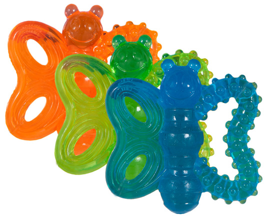 "JW Butterfly Teether ""Chew Me"""