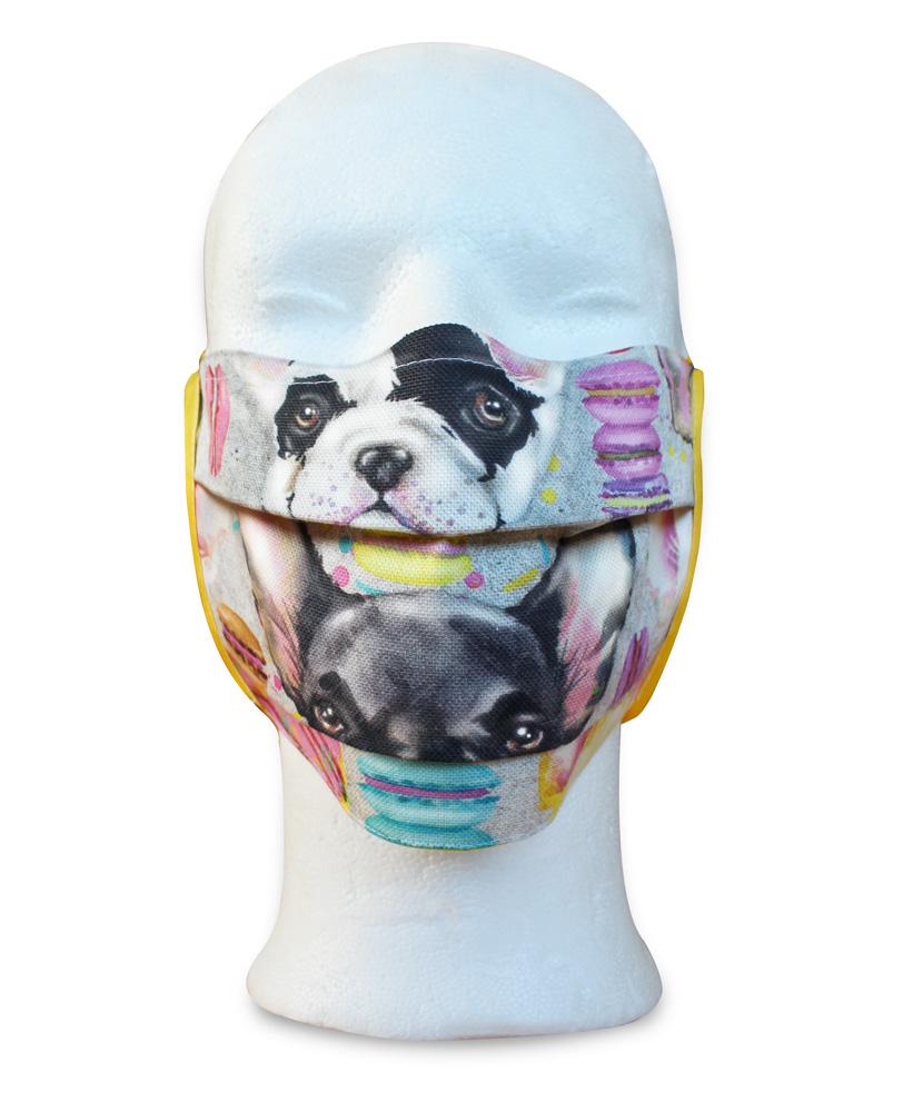 """Nasen-Mund-Maske """"Bulldog"""""""