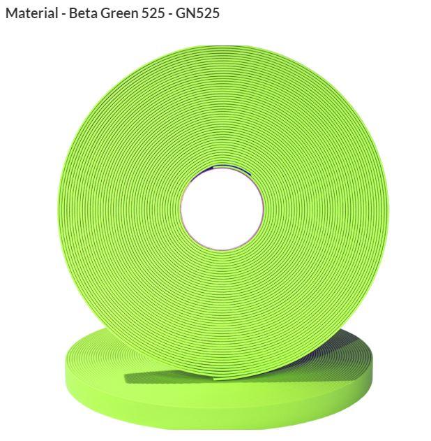 Original Biothane® Material / ganze Rollen  19mm apfelgrün (GN525)