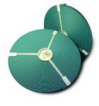 ORIGINAL Biothane® auf Rollen 30,5m pro Rolle 13mm petrol
