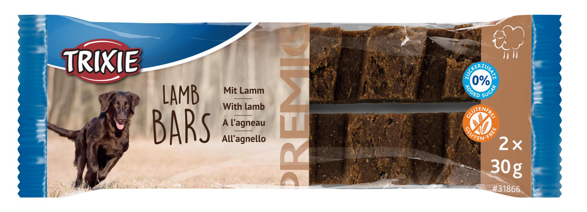 TRIXIE PREMIO Lamb Bars, 2 × 30 g