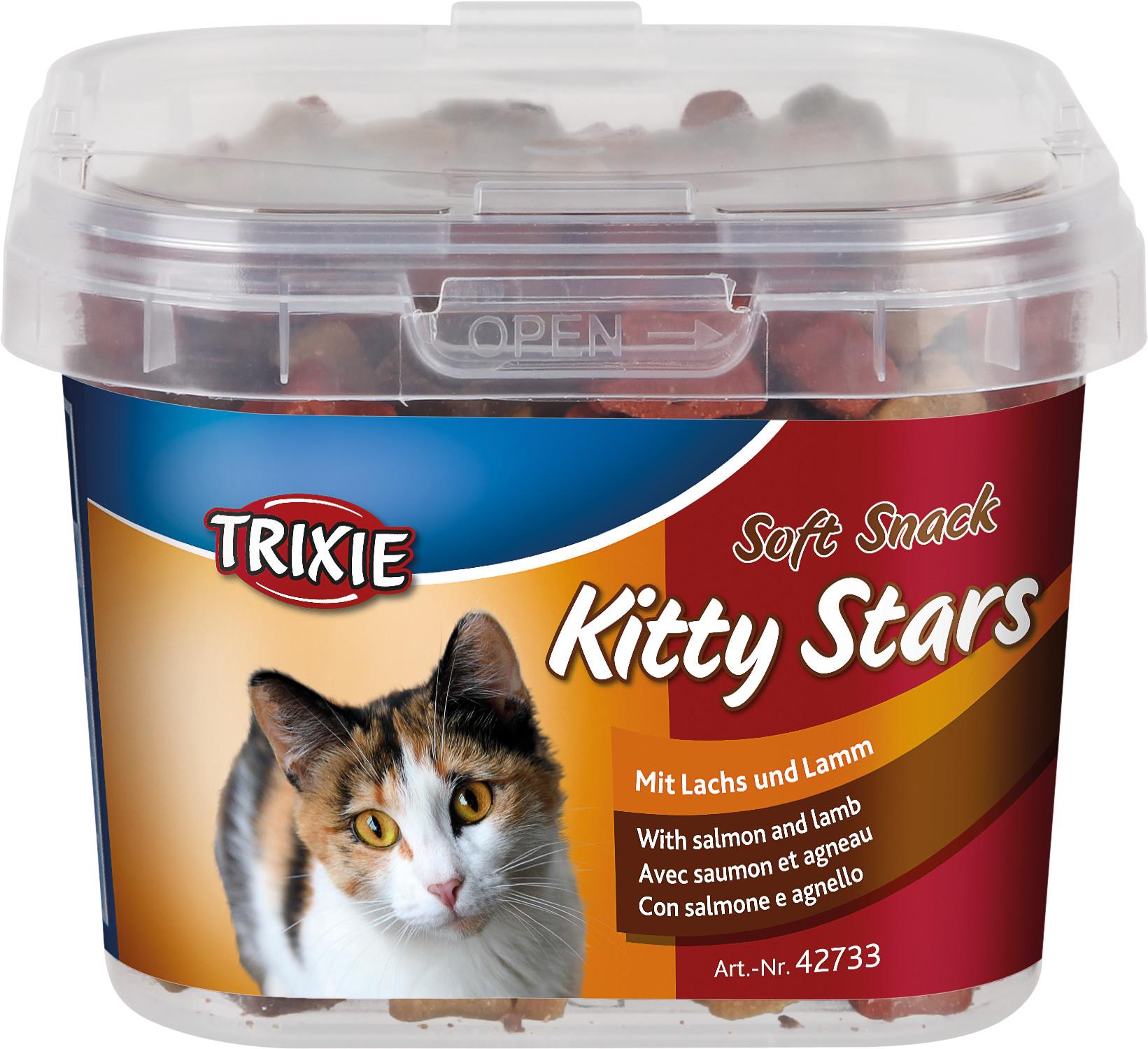 TRIXIE Soft Snack Kitty Stars, 140 g