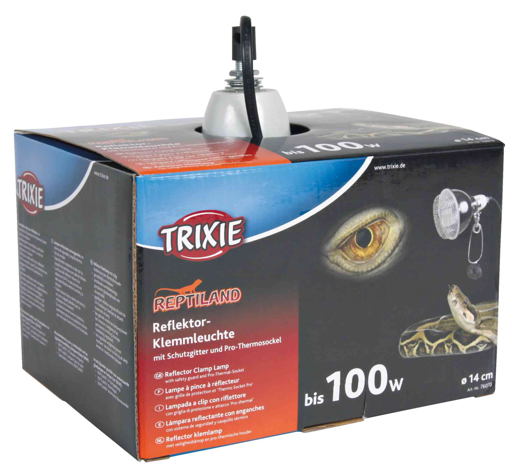 TRIXIE Reflektor-Klemmleuchte, ø 14 × 17 cm