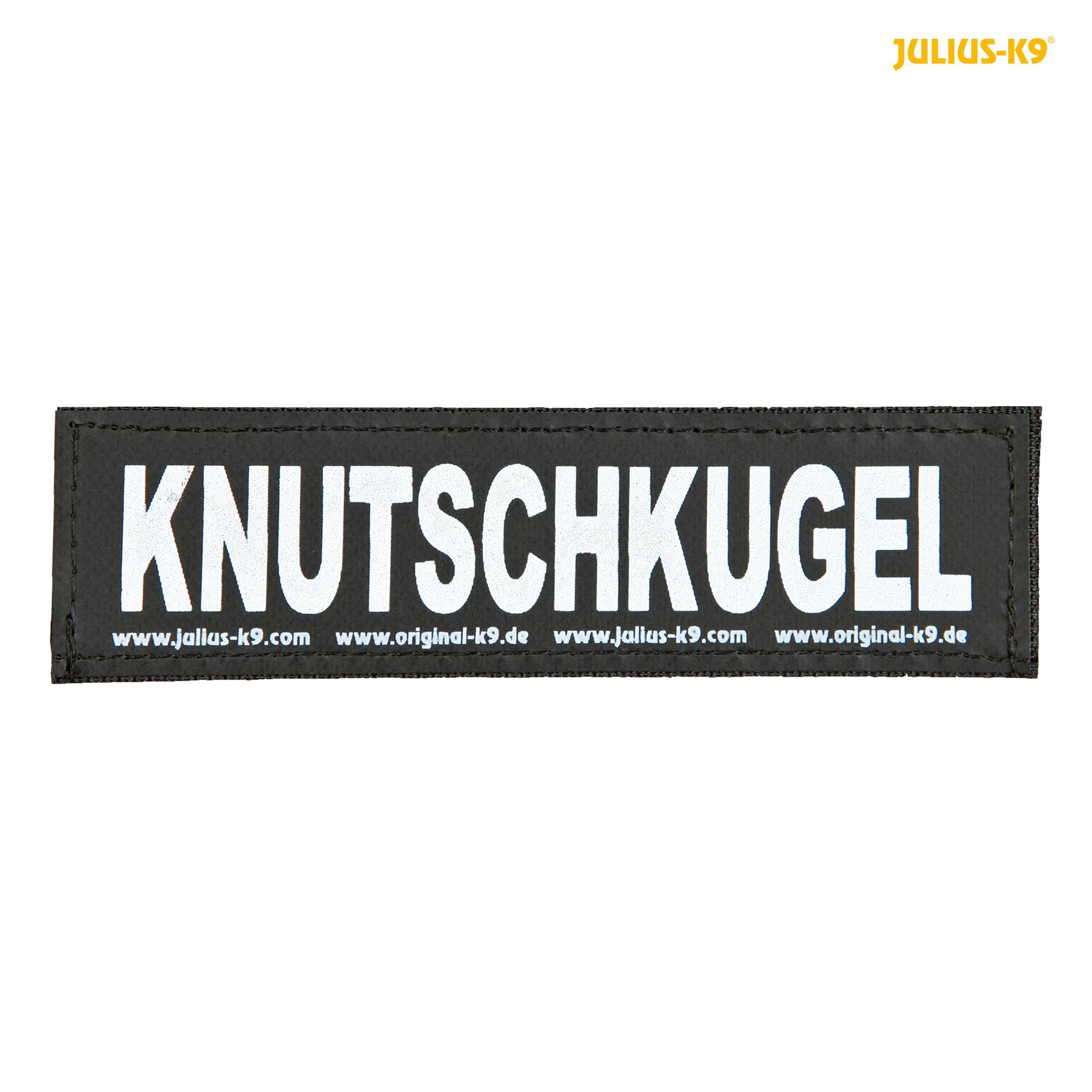 TRIXIE Julius-K9 Klettsticker TRIXIE 2 Julius-K9® Klettsticker, L, KNUTSCHKUGEL