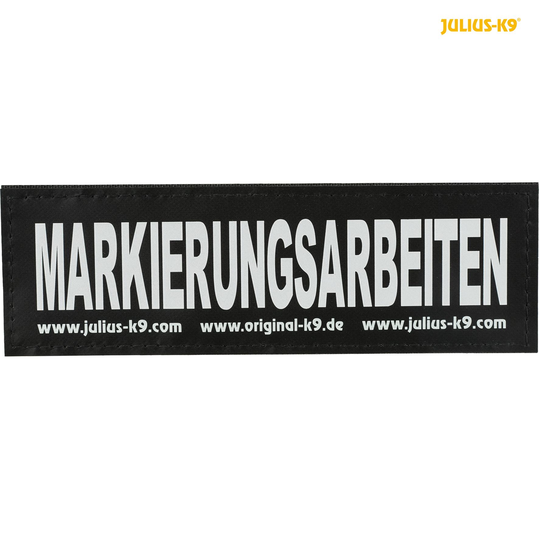 TRIXIE 2 Julius-K9® Klettsticker TRIXIE 2 Julius-K9® Klettsticker, L, MARKIERUNGSARBEITEN