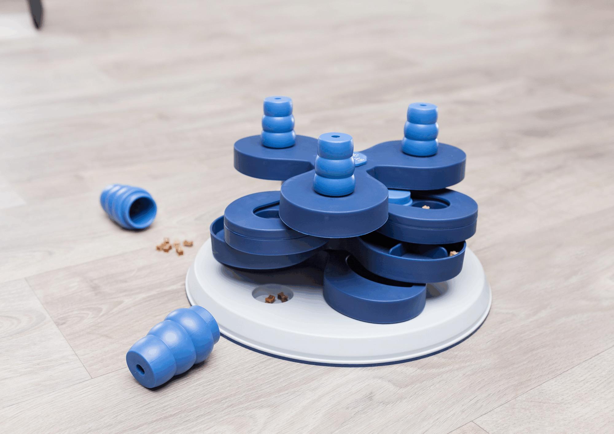 TRIXIE Dog Activity Strategie-Spiel Flower Tower, ø 30 × 13 cm