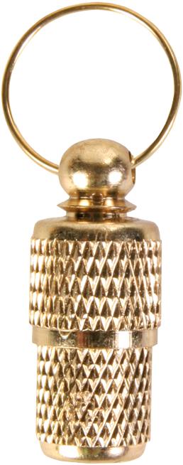 TRIXIE Adressanhänger, Metall TRIXIE Adressanhänger, gold