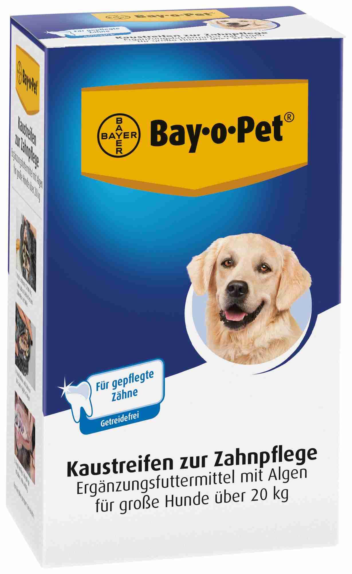 TRIXIE Zahnpflege Kaustreifen, Hund, 140 g