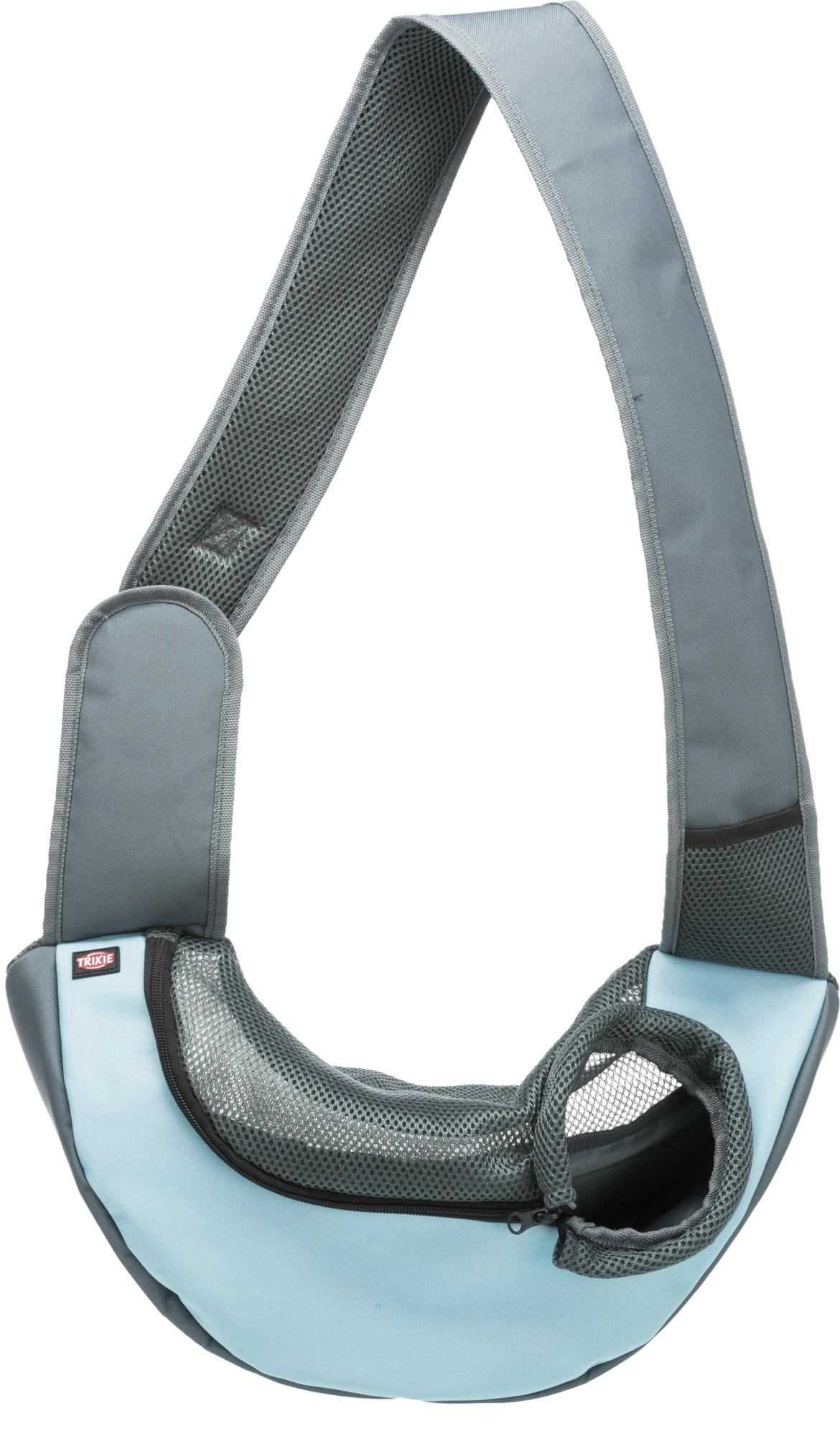 TRIXIE Fronttasche Sling TRIXIE Fronttasche Sling, 50 × 25 × 18 cm, hellgrau/hellblau