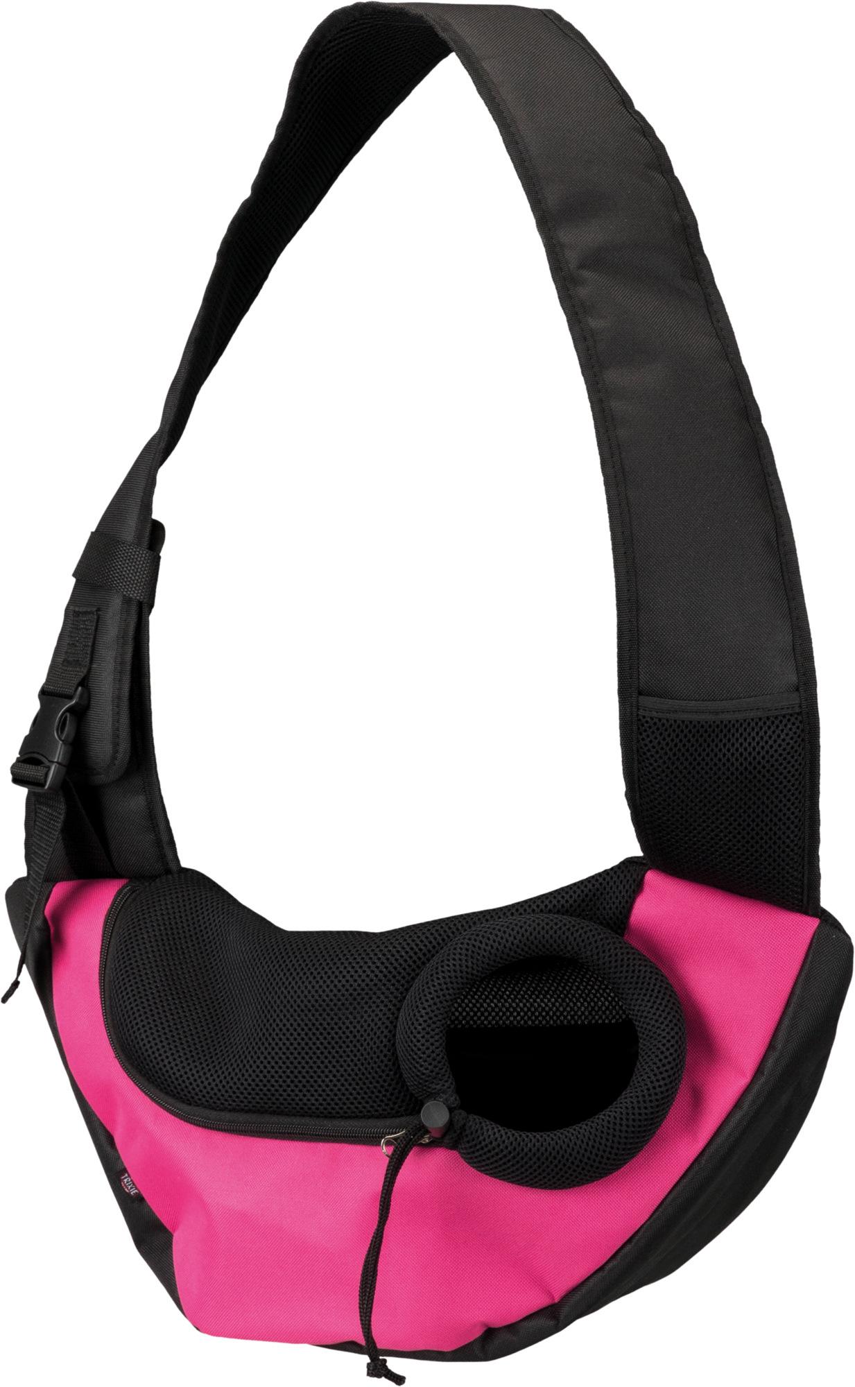 TRIXIE Fronttasche Sling TRIXIE Fronttasche Sling, 50 × 25 × 18 cm, pink/schwarz