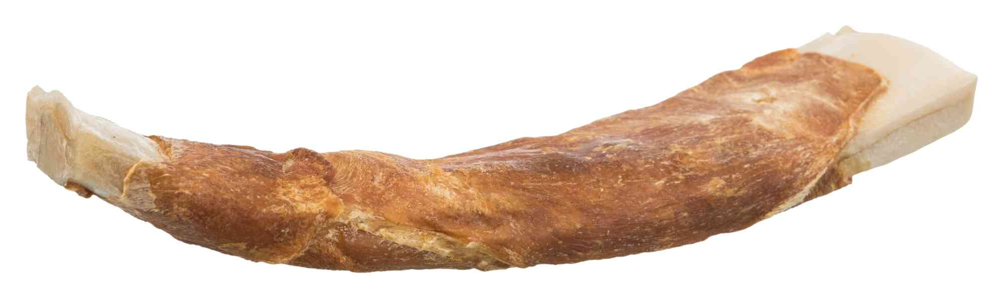 TRIXIE Denta Fun Duck Chewing Barbecue Ribs, 17 cm, 2 St./110 g