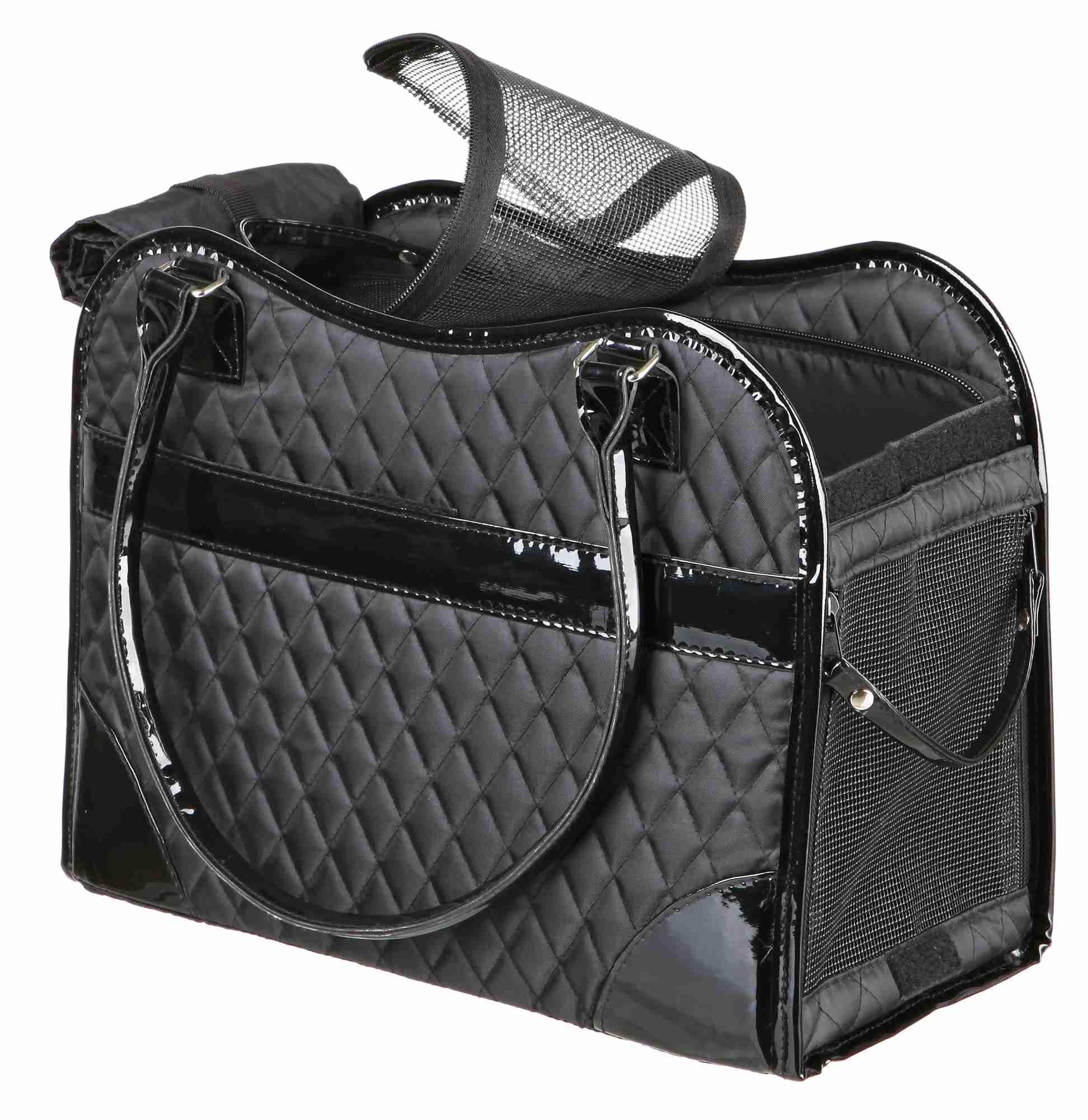 TRIXIE Tasche Amina, 18 × 29 × 37 cm, schwarz