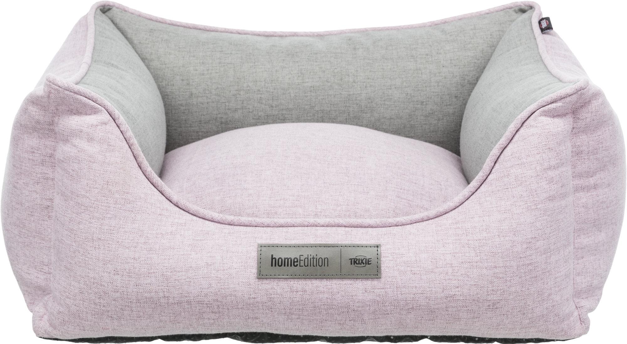 TRIXIE Bett Lona, eckig TRIXIE Bett Lona, eckig, 80 × 60 cm, rosa/grau