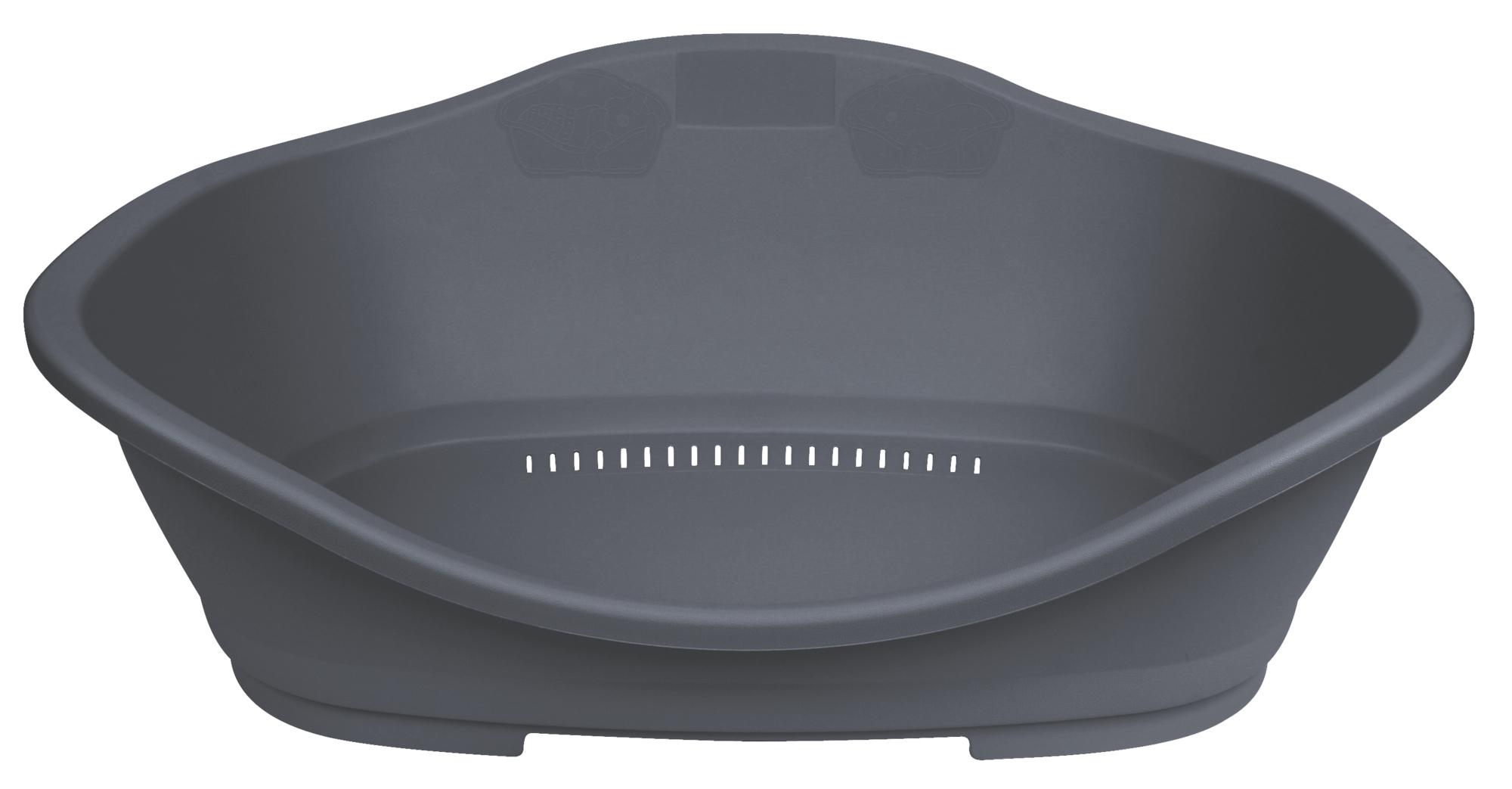 TRIXIE Kunststoffbett Sleeper TRIXIE Bett Sleeper, Kunststoff, Gr. 2: 68 × 47 cm, dunkelgrau