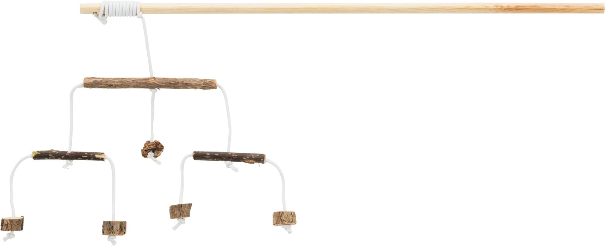 TRIXIE Spielangel mit Matatabi-Sticks, 50 cm