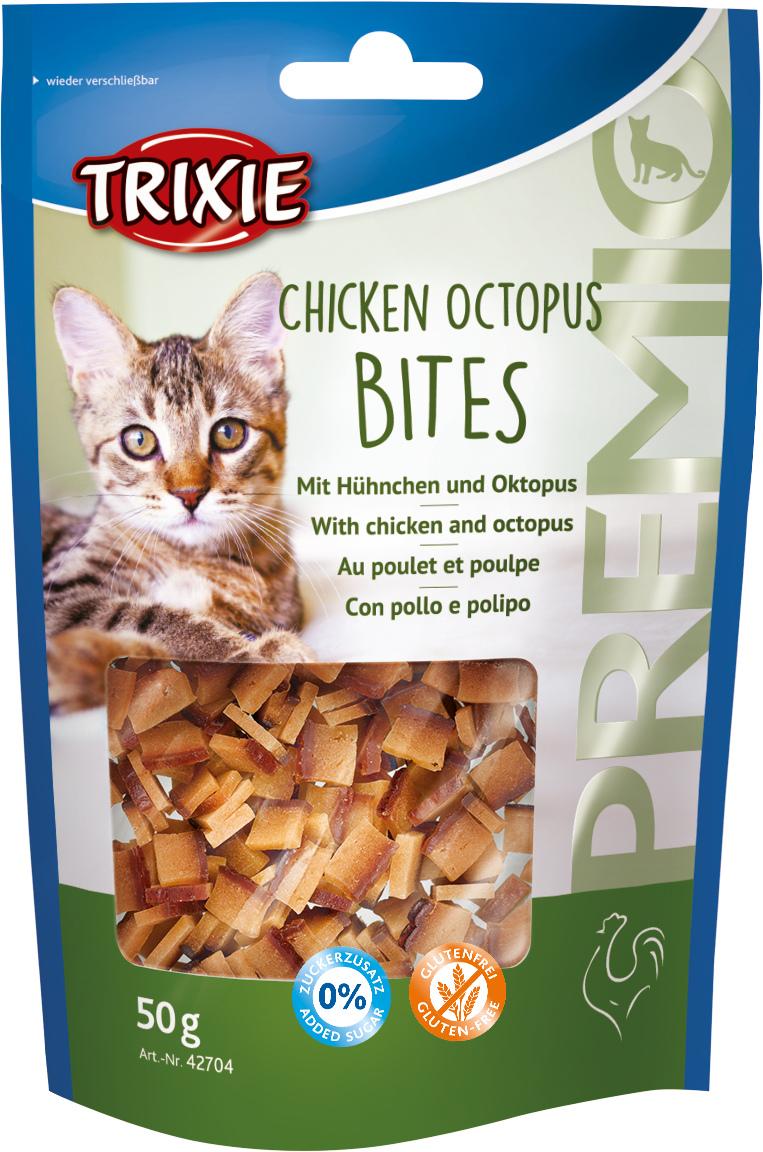 TRIXIE PREMIO Chicken Octopus Bites, 50 g