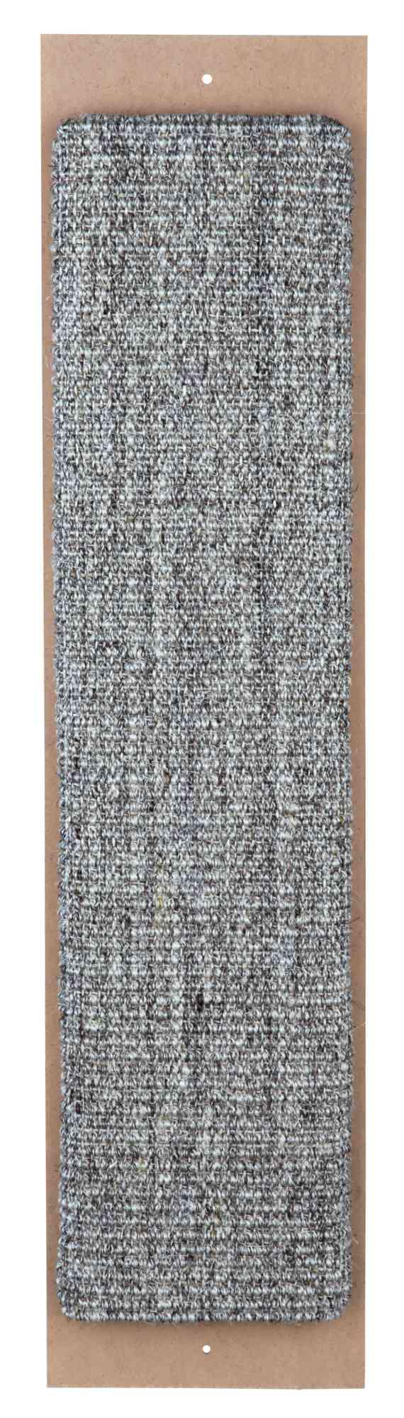 TRIXIE Kratzbrett XL TRIXIE Kratzbrett, Sisalteppich, Katzenminze, 17 × 70 cm, grau