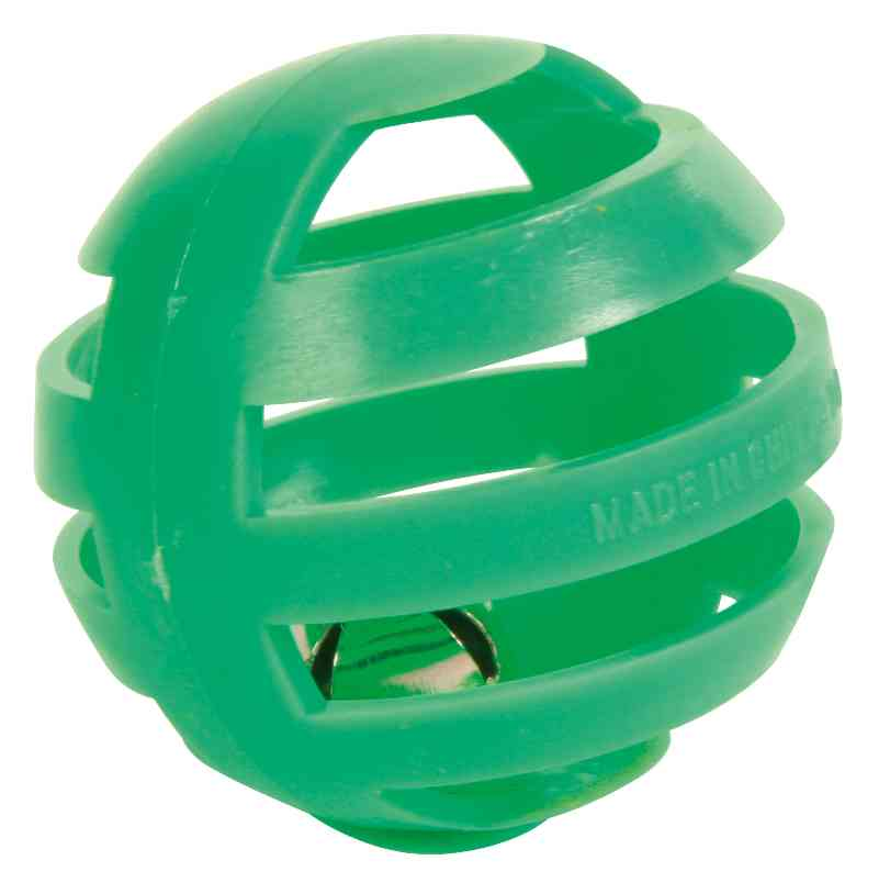 TRIXIE Set Bälle, Kunststoff, ø 4 cm, 4 St.