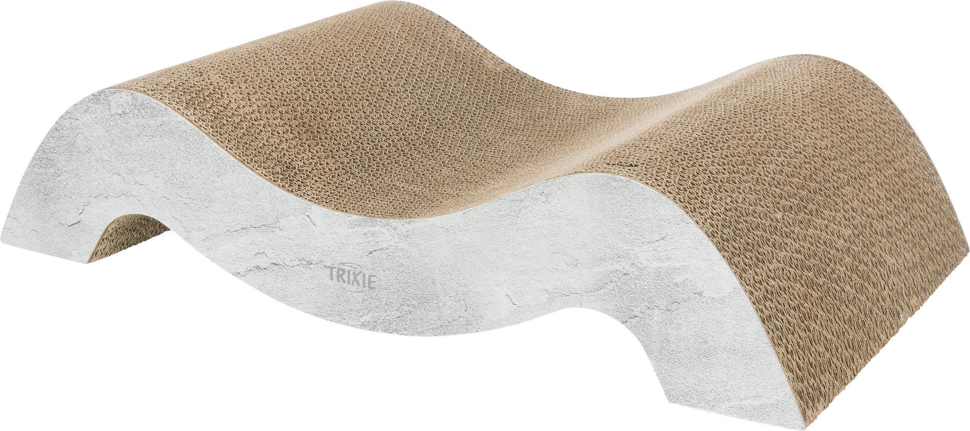 TRIXIE Kratzpappe XXL TRIXIE Kratzpappe XXL, 64 × 14 × 37 cm, grau