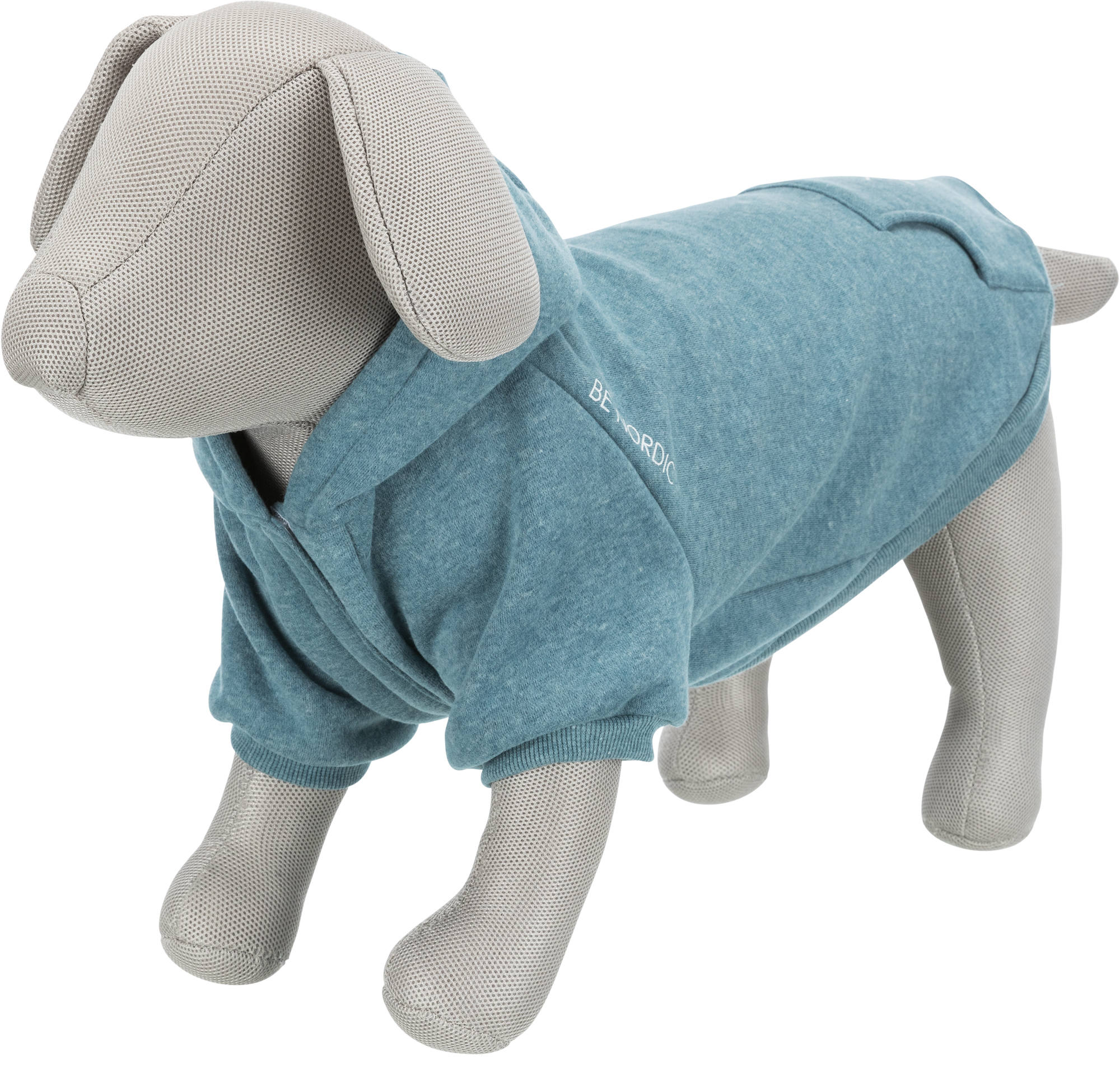 TRIXIE BE NORDIC Hoodie Flensburg TRIXIE BE NORDIC Hoodie Flensburg, M: 50 cm, petrol