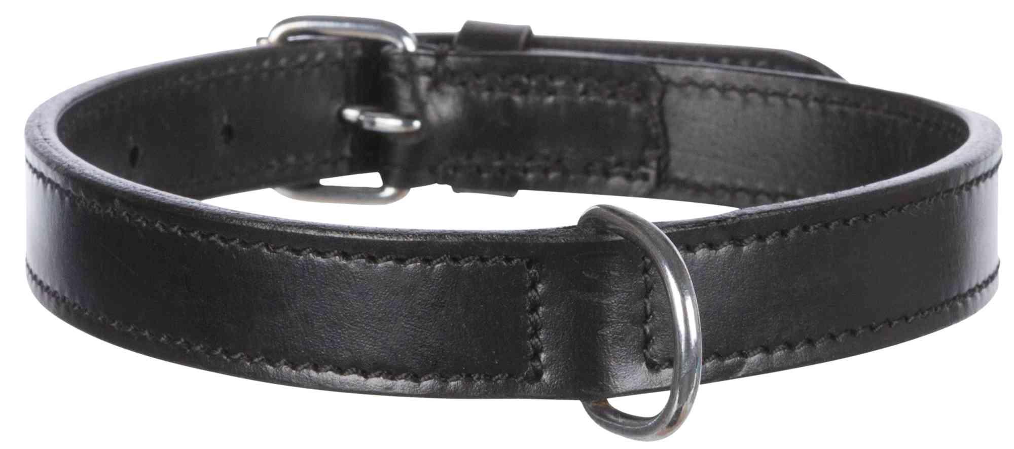 TRIXIE Active Halsband TRIXIE Active Halsband, Leder, L: 47–54 cm/25 mm, schwarz
