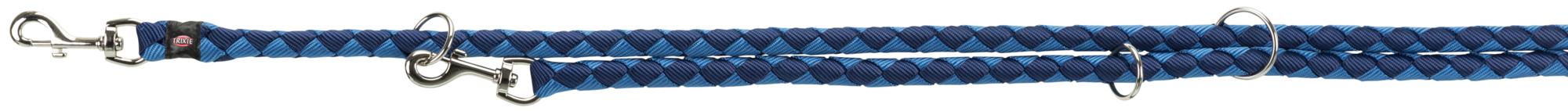TRIXIE Cavo V-Leine TRIXIE Cavo V-Leine, L–XL: 2,00 m/ø 18 mm, indigo/royalblau