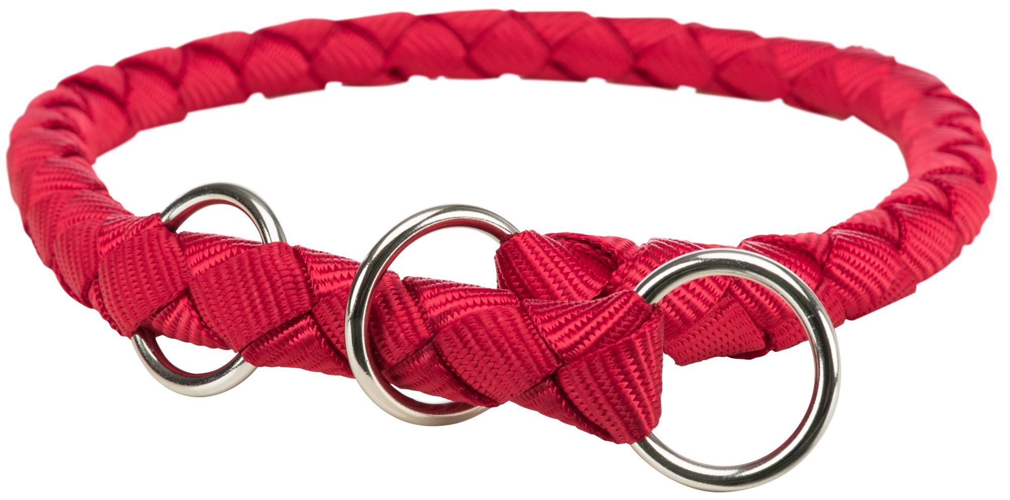 TRIXIE Cavo Zug-Stopp-Halsband TRIXIE Cavo Zug-Stopp-Halsband, L–XL: 52–60 cm/ø 18 mm, rot