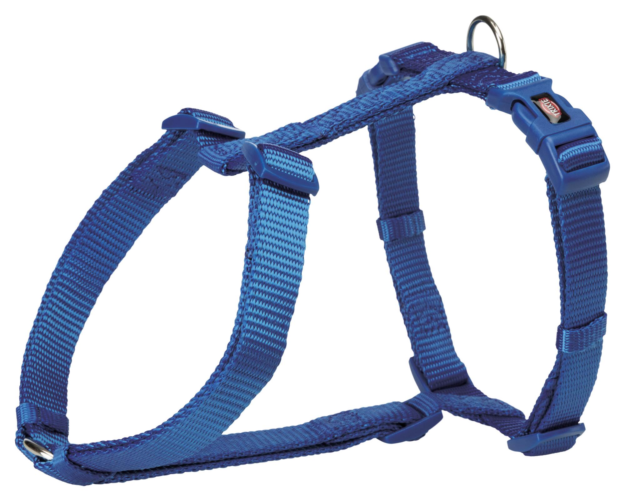 TRIXIE Premium H-Geschirr TRIXIE Premium H-Geschirr, S–M: 42–60 cm/15 mm, royalblau