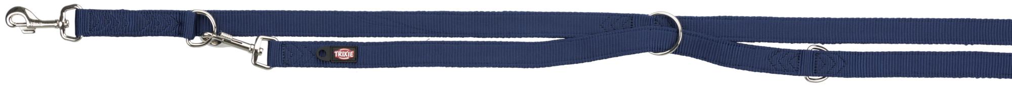 TRIXIE Premium Verlängerungsleine, doppellagig TRIXIE Premium V-Leine, doppellagig, XS–S: 2,00 m/15 mm, indigo