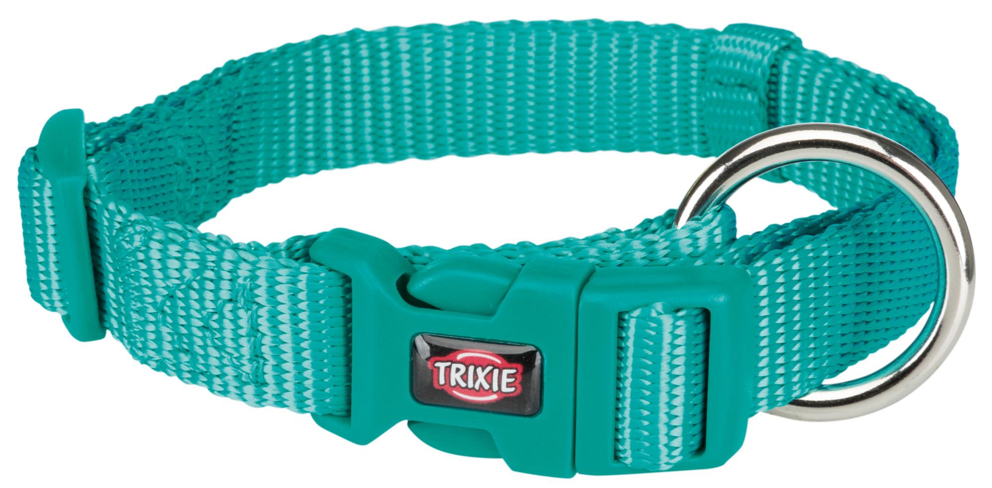 TRIXIE Premium Halsband, stufenlos verstellbar TRIXIE Premium Halsband, S–M: 30–45 cm/15 mm, ozean