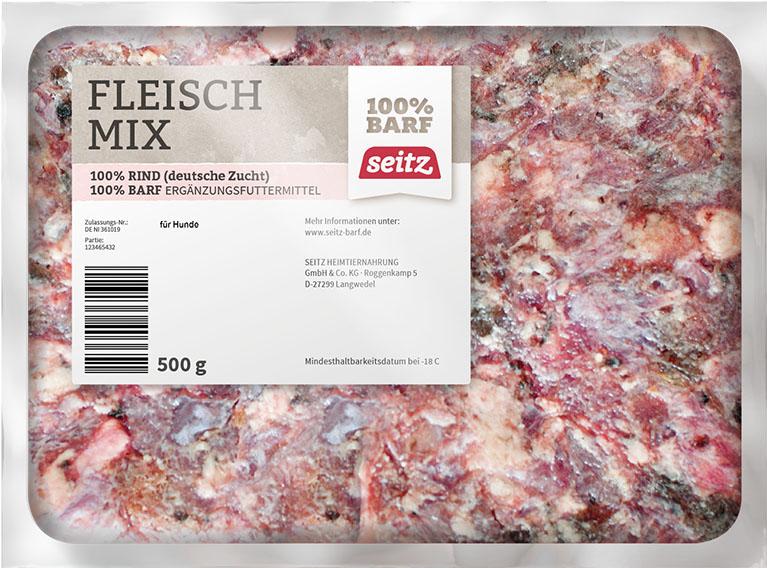 SEITZ Fleisch-Mix gewolft 500G