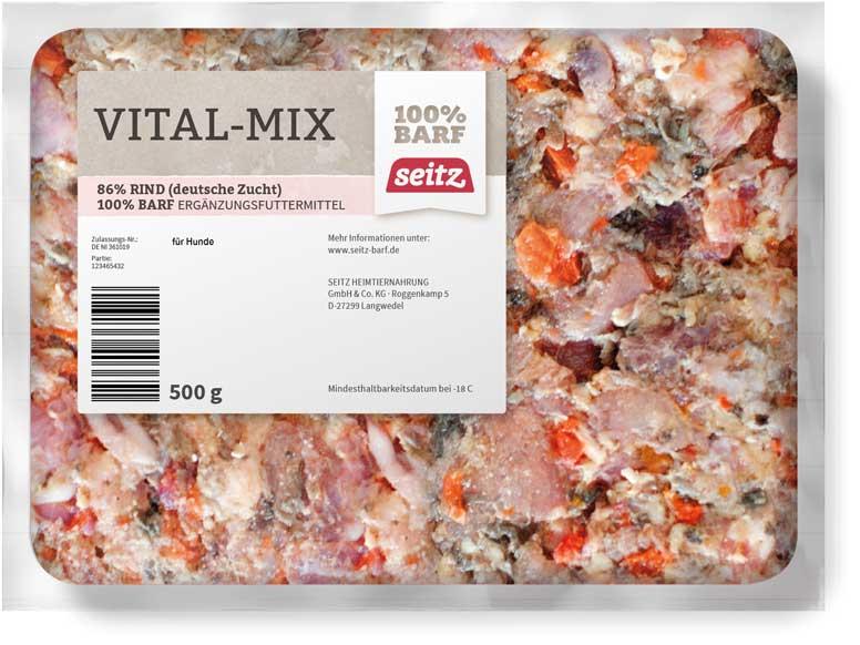 SEITZ Vital-Mix mit Flocken 500G