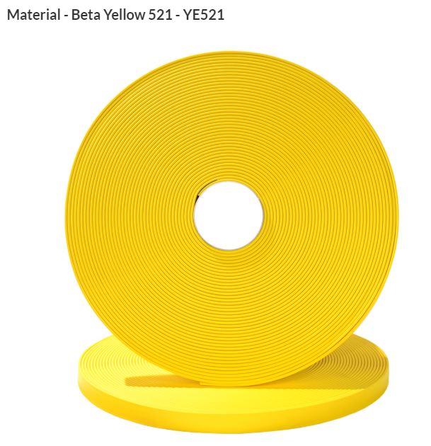 ORIGINAL Biothane® Meterware 9mm  15.00m sonnengelb (YE521)
